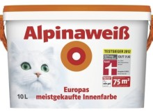 alpinaweiß auf wandfarbe-test.de