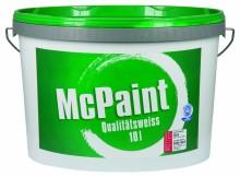 Wandfarbe weiß im Test Marke McPaint