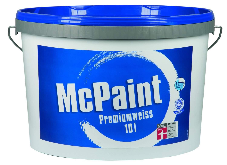 mcpaint premiumwei matt 10 liter. Black Bedroom Furniture Sets. Home Design Ideas