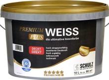 Schulz Premiumweiß Wandfarbe 10Liter